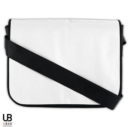 Τσάντα ώμου Non woven με θήκη για έγγραφα και μολύβια. L-TRIBECA